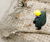 Concrete Preparation: Bead Blasting and Concrete Grinding