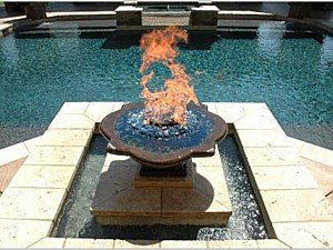 Fireplaces and Fountains